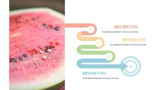 여름 파인애플 & 수박 구글 슬라이드_36
