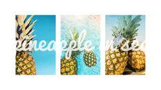 여름 파인애플 & 수박 PowerPoint 템플릿 디자인_24