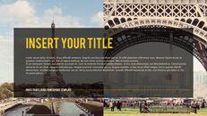 파리 여행 가이드 테마 PT 템플릿_04