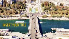 파리 여행 가이드 테마 PT 템플릿_07