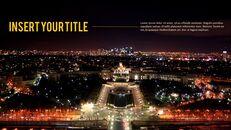 파리 여행 가이드 테마 PT 템플릿_11