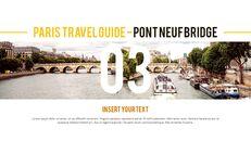 파리 여행 가이드 테마 PT 템플릿_13