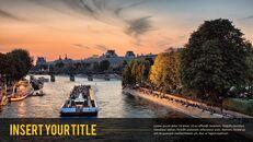 파리 여행 가이드 테마 PT 템플릿_18