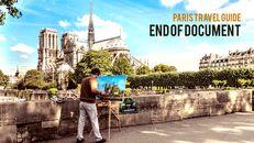 파리 여행 가이드 테마 PT 템플릿_31