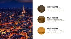 파리 여행 가이드 테마 PT 템플릿_36
