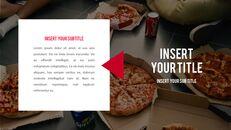 피자 프레젠테이션용 PowerPoint 템플릿_14