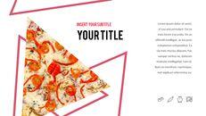 피자 프레젠테이션용 PowerPoint 템플릿_23