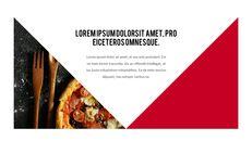 피자 프레젠테이션용 PowerPoint 템플릿_26