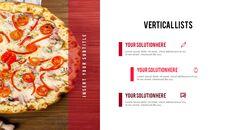 피자 프레젠테이션용 PowerPoint 템플릿_37