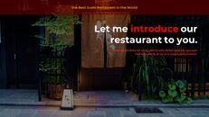 세계 최고의 스시 레스토랑 구글 슬라이드_23