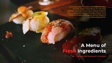 세계 최고의 스시 레스토랑 구글 슬라이드_25