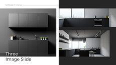 3d 현대 인테리어 심플한 Google 슬라이드 템플릿_07