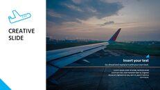 비행기 여행 프레젠테이션용 Google 슬라이드_21