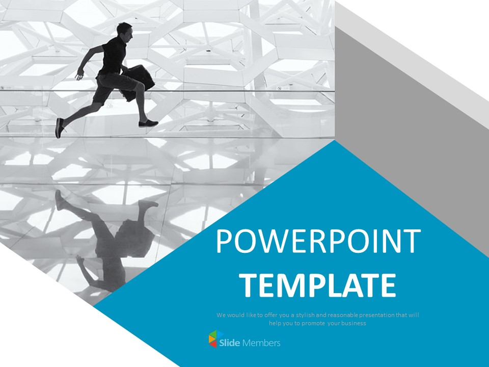 Free Powerpoint Templates Design Busy People In Modern Life