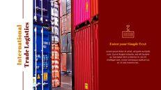 국제 무역 물류 파워포인트 슬라이드_13