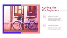 초보자를위한 자전거 팁 테마 PT 템플릿_26