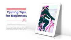 초보자를위한 자전거 팁 테마 PT 템플릿_28