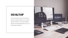 데스크탑 및 노트북 PowerPoint 프레젠테이션 템플릿_15