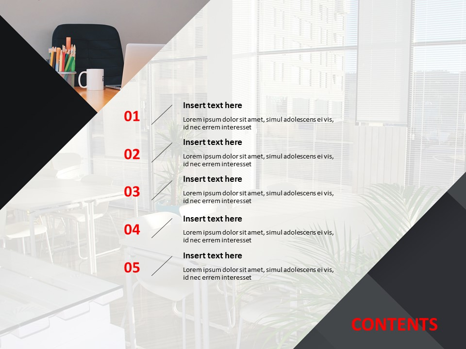 Free Powerpoint Templates Design Interior For Offices