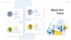 Infographic 평면 디자인 서식 파일 맞춤형 구글 슬라이드_14