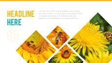 허니비(꿀벌) 간단한 디자인 템플릿_20