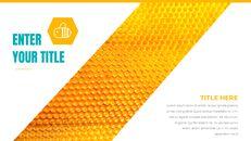 허니비(꿀벌) 창의적인 구글슬라이드_06