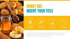 허니비(꿀벌) 창의적인 구글슬라이드_09