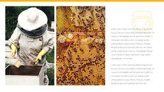 허니비(꿀벌) 창의적인 구글슬라이드_23