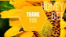 허니비(꿀벌) 창의적인 구글슬라이드_40