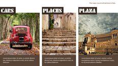 이탈리아의 주요 관광 명소 테마 PPT 템플릿_04