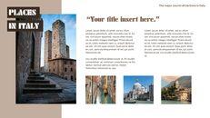 이탈리아의 주요 관광 명소 테마 PPT 템플릿_08