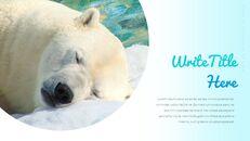 북극곰이 사는 곳 Google 프레젠테이션 템플릿_06