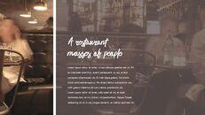 레스토랑 PPT 테마 슬라이드_23