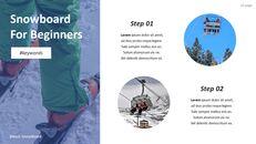 스노우 보드에 대한 기본 팁 및 유용한 정보 PPT 디자인 템플릿_20