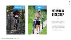 산악 자전거 파워포인트 프레젠테이션 디자인_04
