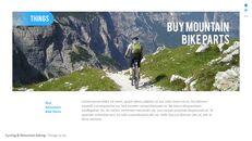 산악 자전거 파워포인트 프레젠테이션 디자인_11