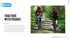산악 자전거 파워포인트 프레젠테이션 디자인_26