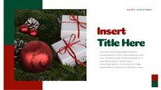 크리스마스 선물 파워포인트 비즈니스 템플릿_04