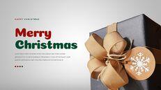 크리스마스 선물 파워포인트 비즈니스 템플릿_05