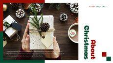 크리스마스 선물 파워포인트 비즈니스 템플릿_10