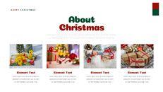 크리스마스 선물 파워포인트 비즈니스 템플릿_14