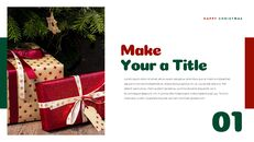 크리스마스 선물 파워포인트 비즈니스 템플릿_18