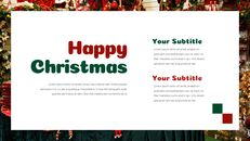 크리스마스 선물 파워포인트 비즈니스 템플릿_22
