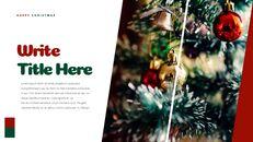 크리스마스 선물 파워포인트 비즈니스 템플릿_27