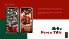 크리스마스 선물 파워포인트 비즈니스 템플릿_39