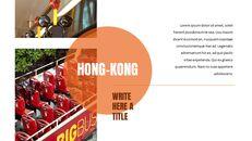 홍콩 심플한 프레젠테이션 Google 슬라이드 템플릿_05