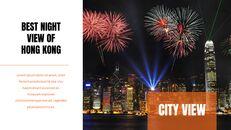 홍콩 심플한 프레젠테이션 Google 슬라이드 템플릿_20