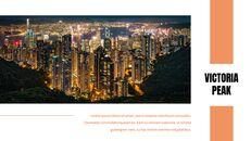 홍콩 심플한 프레젠테이션 Google 슬라이드 템플릿_22