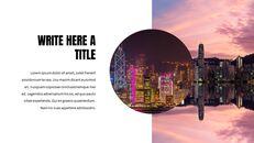 홍콩 심플한 프레젠테이션 Google 슬라이드 템플릿_25