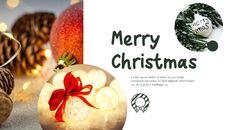 메리 크리스마스 간단한 디자인 템플릿_21